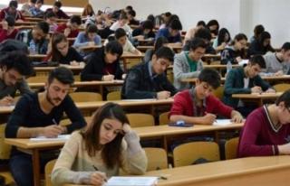 Nüfus Müdürlüğü 2018-YKS için sınav günü...