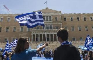Yunanistan-Makedonya anlaşmasına protestoda arbede