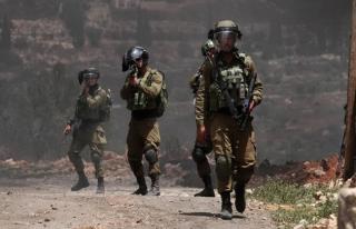 İşgal güçlerinden Filistinlilerin düzenlediği...