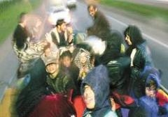 Irak'tan kaçan kaçana