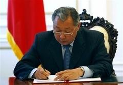Kırgızistan'da taraflar anlaştı