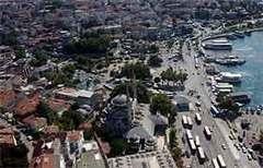 Üsküdar meydanı trafiğe kapatılıyor