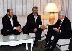 Abbas ve Meşal Şam'da buluştu