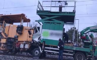Halkalı - Sirkeci hattında tren kazası
