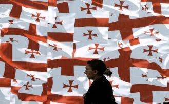 Gürcistan'da 'bayrak krizi' bakanı yerinden etti
