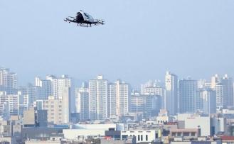 Drone taksi ilk uçuşunu gerçekleştirdi
