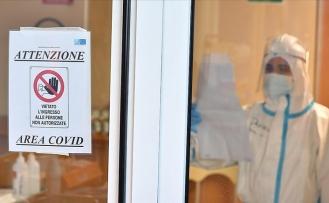 İtalya'da Kovid-19 salgınında bir günde rekor ölü sayısına ulaşıldı