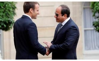 Macron, Sisi'ye insan hakları konusunda akıl verecek!
