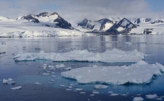 Antarktika'daki buzulun altında volkanik sıcaklık saptandı