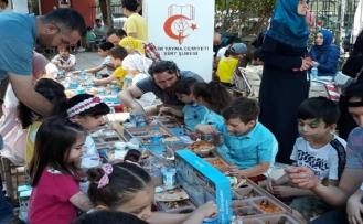 'Tekne Oruçlu' çocukların iftar sevinci | FOTO