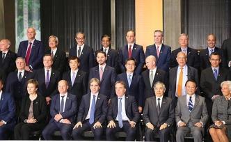 Bakan Albayrak 'G20 Aile Fotoğrafı'nda