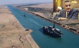 Nasır Süveyş Kanalını millileştirdi