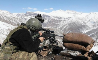 PKK'nın kış üslenmesine operasyon