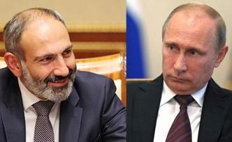 Paşinyan'dan Rusya'ya ziyaret