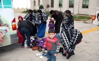Suriye sınırında 13 göçmen yakalandı