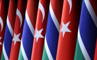Türkiye'den Gambiya ordusuna destek