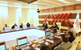 YÖK Başkanı Saraç milletvekillerini bilgilendirdi