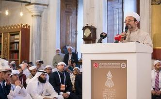 Görmez: Kuran'ı yaşamak çok büyük bir ibadet