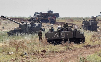 İsrail'den Gazze sınırında savaş gibi tatbikat