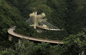 9 işçinin ölümüne neden olan köprü inşaatı yıkıldı