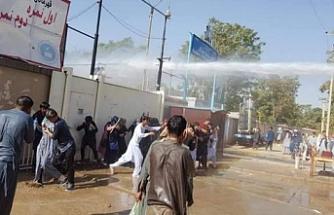 Afganistan'daki FETÖ grubundan polise mukavemet