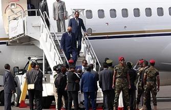 Eritre Devlet Başkanı 20 yıl aradan sonra Etiyopya'da