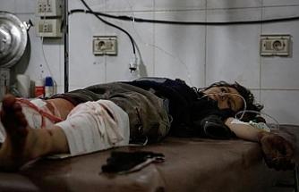 Esed rejimi bu kez tarlada çalışan çocukları vurdu