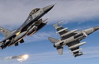 Irak'ın kuzeyindeki terör hedeflerine hava harekatı