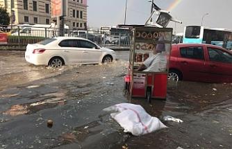 İstanbullulara sağanak uyarısı