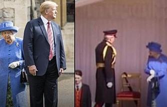 Trump Kraliçe Elizabeth'i  çok kızdırdı