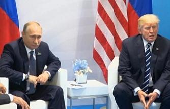 Trump-Putin zirvesinden ilk açıklama: Yüz yüze görüşmek güzel