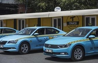 Turkuaz taksiler yola çıkıyor