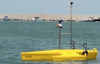 Yerli 'insansız deniz aracı' geliştirildi