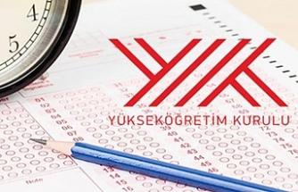 YÖK'ten sınav iptali