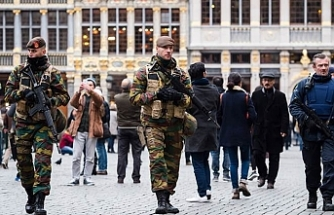 Belçika sokakları askerlerden arındırılıyor