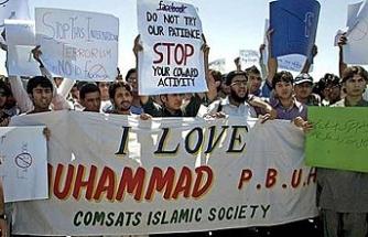 """Hollanda'daki """"Hazreti Muhammed"""" karikatür yarışmasına Pakistan'dan tepki"""
