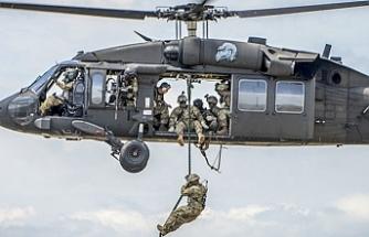 Irak'ta ABD ordusuna ait helikopter düştü
