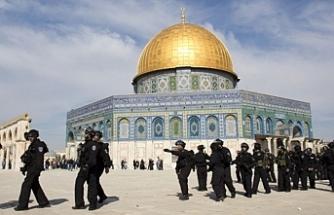 İsrail güçleri Mescid-i Aksa'nın kapılarını kapattı