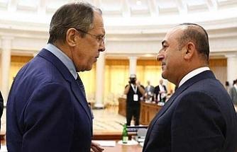 Lavrov ve Çavuşoğlu biraraya geldi