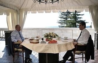 İki lider Hazar konusunu görüştü