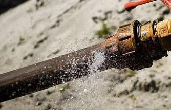 Su borusu kırılan köyün tamamı gözaltına alındı
