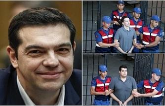 Türkiye tutuklu Yunan askerlerini serbest bıraktı
