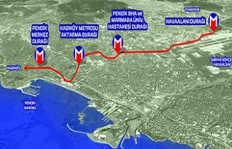 Altunizade-Sabiha Gökçen metro hattını Bakanlık üstlendi