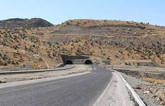 Cudi Dağı tünelleri hizmete açıldı