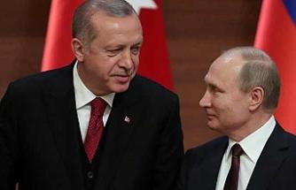 Erdoğan Putin görüşmesinde işbirliği mesajı