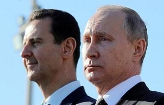 Esed'den Putin'e başsağlığı, İsrail'e suçlama