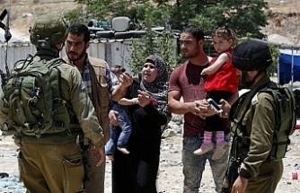 Filistinli aileye İsrail zulmü