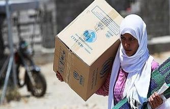 Gıda yardımına muhtaç 39 ülke var