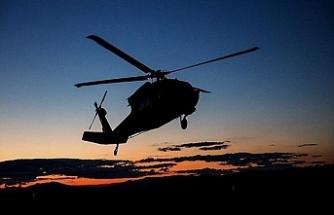 İran'da askeri helikopter düştü: 5 yaralı