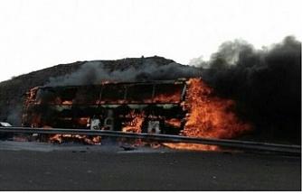 İran'da tanker yolcu otobüsüne çarptı: 19 ölü